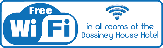 Free Wi-Fi at Bossiney House Hotel in Cornwall